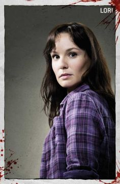 Sarah Wayne Callies as Lori Grimes on the zombie show The Walking Dead