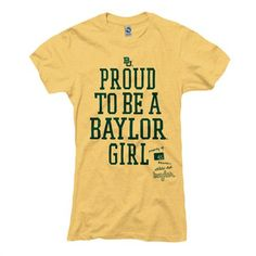 Baylor University Bears Ring Spun Tee - New Agenda by Perrin