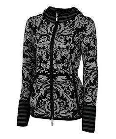 Take a look at this Black Pamela Merino Track Jacket - Women by Neve on #zulily today! $135 !!