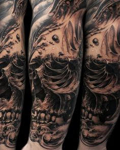 Black / Gray | Mancia Tattoos