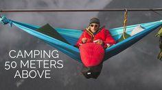 Pure adrenaline: Hammocks Suspended 50 Meters High