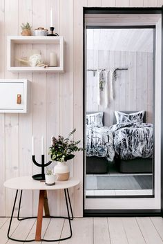 Harju bedset by Matleena Issakainen Furniture, Interior, Gallery Wall, Wall, Shelving Unit, Home Decor, Entryway, Bedding Sets, Entryway Bench