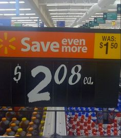 Only At Walmart Another Pricing FAIL - Funny Pictures at Walmart