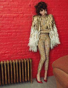 Freja Beha Erichsen By Inez & Vinoodh For Vogue Paris - May 2013
