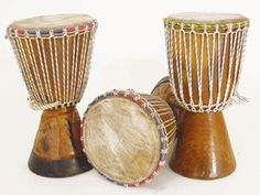 D'jembe Drums are a traditional African musical instrument, and this entire instrument is handmade. #africanbookstore