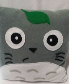 Totoro pillow by Artbymayra on Etsy