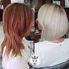 Hair transformation για την Θέμις!   Με την Θέμις έχουμε περάσει από 40 κύματα και 100 αλλαγές!  Την τελευταία φορά υποσχέθηκε πως δεν θα ξαναγίνει ξανθιά...όμως να'μαστε πάλι στην μαγική καρέκλα!  Κερνά λοιπόν μια #amstel σε αυτούς που σου είπαν πως δεν μπορείς να αλλάξεις τα μαλλιά σου σε μια μέρα 😉😉😉