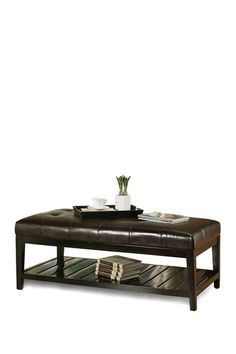 Chloe Leather Coffee Table/Ottoman by Abbyson Living on @HauteLook