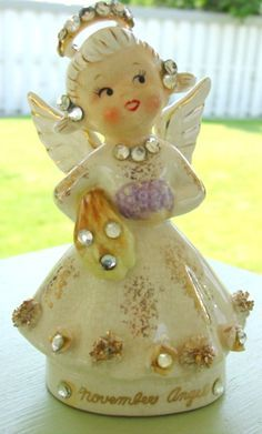 Antique Porcelain Angels from the 1940ts and 1950ts on Pinterest | 25…