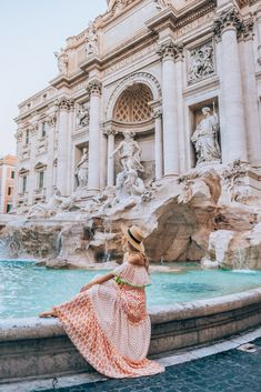 Dress MISS JUNE Paris by @cherrielynn Trevi Fountain, Travel Pictures, Travel Pics, Rome Italy, Jet Set, Louvre, Paris, Explore, Building