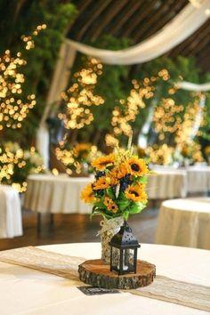 Lantern Wedding Centerpiece Ideas 2019 Rustic Sunflowers and Black Lantern Wedding Centerpiece Ideas Paper