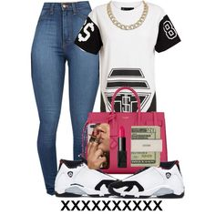 Lilshawtybad girls with swag outfits, fashion и fashion outf Dope Fashion, Fashion Killa, Urban Fashion, Teen Fashion, Fashion Outfits, Womens Fashion, Dope Outfits, Swag Outfits, Casual Outfits