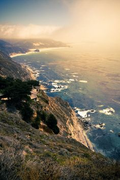 Pacific Coast highway, California.  CLICK THE PIC and Learn how you can EARN MONEY while still having fun on Pinterest