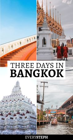 3 days in Bangkok? This Bangkok itinerary will guide you through what to see and the best things to do in Bangkok in 3 days. Thailand Travel Tips, Bangkok Travel, Asia Travel, Bangkok Trip, Nightlife Travel, Bangkok City Tour, Backpacking Thailand, Laos Travel, Croatia Travel