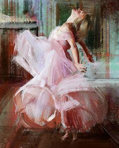 FEATURED ARTIST: Ramón Nuñez. Dance - Amazing action in this #portraitart