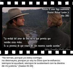 #CitasDePeliculas #CineYBiblia #ElAmorLlegaSuavemente