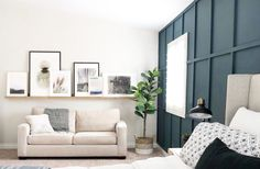 Paint Colors in My House - Angela Rose Home Home Decor Kitchen, Home Decor Bedroom, Master Bedroom, Balboa Mist, Blue Green Paints, Flat Interior, Green Rooms, Paint Colors For Home, Home Improvement Projects
