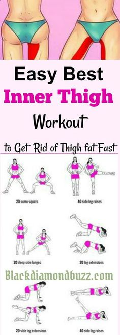 21 Minutes a Day Fat Burning Inner thigh slimming workouts Here are easy best inner thigh exercises to get rid of thigh fat and tone legs fast at home Using this Fitness Workouts, Yoga Fitness, Health Fitness, Fitness Plan, Teen Fitness, Training Workouts, Health Club, Weight Training, Best Inner Thigh Workout