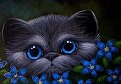 fantasy pictures of cats   ... print signed and dated in the back my new paintings with my fantasy