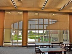 Motorized roller shades furnished and installed by Kite's Interiors. Motorized Shades, Roller Shades, Interiors, Projects, Room, Furniture, Home Decor, Log Projects, Bedroom