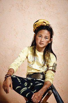 Kalulu Kids Basil Tunic