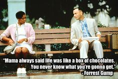Forrest Gump (1994) | 22 Of The Most Powerful Quotes Of OurTime
