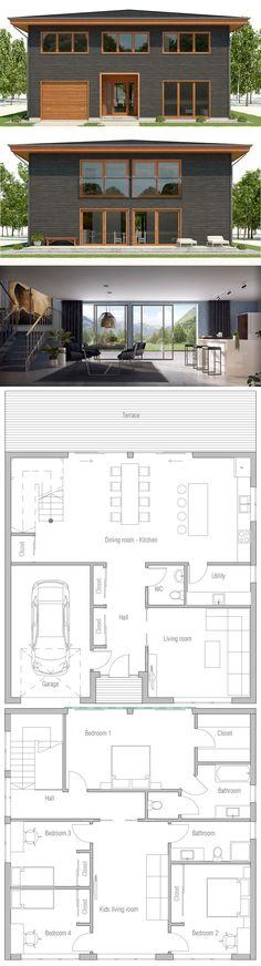 Modular Shipping container house plan
