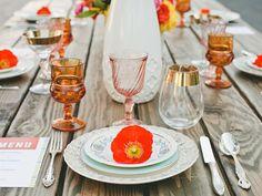 Beautiful table setting idea!