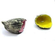 Artisan Beads MILKSHAKE Matt Glazed Ceramic Silent by RaggedRobyn