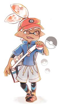 Pokemon and Splatoon.. Imagine if that was a thing.