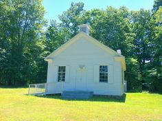 Jordan's Chapel, the first frame church in the area. Located near Pipestem, WV