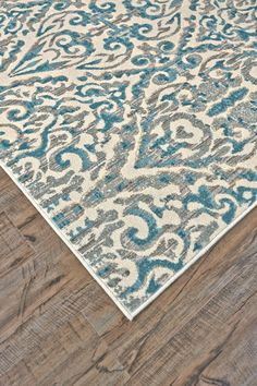 Saleya Turquoise Area Rug | Wayfair