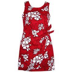 seastar hawaiian sarong dress