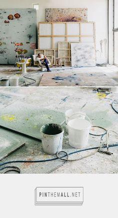 Miquel Barceló en su estudio-atelier, Mallorca, 2015. (Fotos Salva López)...  http://atelierlog.blogspot.com.es/