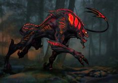 Outlander Movie Monster: Moorwen