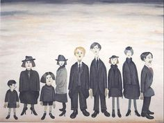 LS Lowry, The Funeral Party