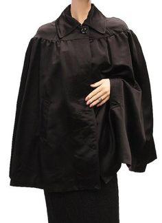 D Womens Jacket Coat Black Lamb D Dolce & Gabbana. $253.50