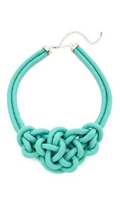 Knotted Rope Necklace♥✤ | Keep the Glamour | BeStayBeautiful
