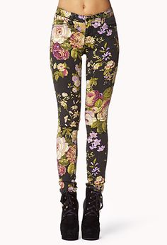 Peaceful Meadow Skinny Jeans | FOREVER21 - 2002246384