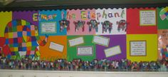 Elmer the Elephant classroom display photo - Photo gallery - SparkleBox