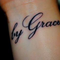 """Get a """"Grace"""" tattoo"""