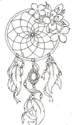 Dream catcher @Laura Jayson wynn. You could embroider the catcher then hang the ribbons and feathers from the hoop