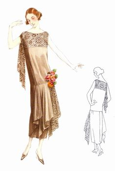 1922 fashion dress