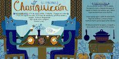 Cositas Ricas Ilustradas por Pati Aguilera Chilean Recipes, Chilean Food, Comida Diy, Vintage Drawing, Publication Design, Food Illustrations, Sin Gluten, Kitchen Recipes, Side Dish Recipes