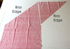 Just a nice tutorial on bias tape and how to cut your fabric using a 1/2 yard.