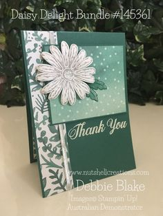 Daisy Delight. Delightful Daisy Suite Stampin' Up! 2017-2018 Debbie Blake, Australia www.nutshellcreations.com