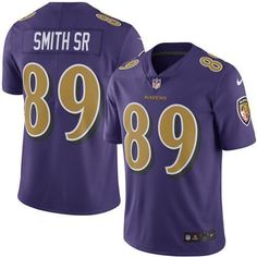 4d3ad2867 Nike Ravens  89 Steve Smith Sr Purple Youth Stitched NFL Limited Rush Jersey  And  . Eric BerryAmerican Football JerseyColor RushSuper Bowl ...