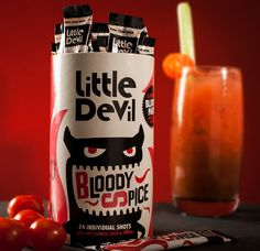 Little Devil Bloody Mary Spice Mix. #Halloween #Inspiration #Drinks #Cocktail