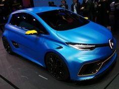 2017 Geneva Motor Show: Renault Zoe e-Sport Concept Unveiled — The Future Of Hot Hatchbacks?