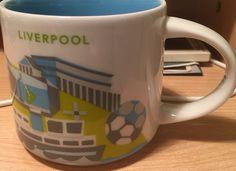 "Liverpool - ""You Are Here"" Starbucks Mug"